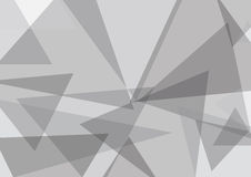 Triangle Background. A triangle background design with layers and texture Royalty Free Stock Photos