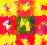 Triangle background. Pattern of geometric shapes Stock Image