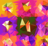 Triangle background. Pattern of geometric shapes Royalty Free Stock Photos
