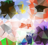 Triangle background. Pattern of geometric shapes Stock Photos
