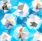 Triangle background. Pattern of geometric shapes Royalty Free Stock Photography