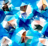 Triangle background. Pattern of geometric shapes Royalty Free Stock Images