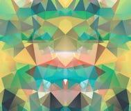 Triangle background. Pattern of geometric shapes Stock Photo