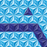 Triangle-background Royalty Free Stock Image