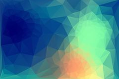 Triangle background. Triangle vector background in bright and dark retro colors Royalty Free Stock Image