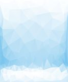 Triangle background. Triangle vector background in light blue color Stock Photos