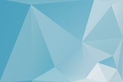 Triangle background. Triangle vector background in light blue colors Stock Photos