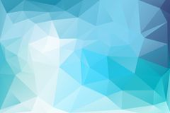 Triangle background. Triangle vector background in light blue and green colors Stock Photos