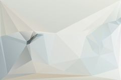 Triangle background. Triangle vector background in light gray colors Royalty Free Stock Photography