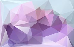 Triangle background. Triangle vector background in light magenta color Royalty Free Stock Image