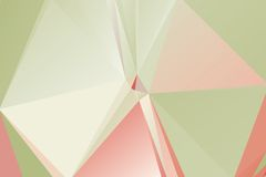 Triangle background. Triangle vector background in light retro colors Stock Photo
