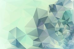 Triangle background. Triangle vector background in light retro colors Royalty Free Stock Photos
