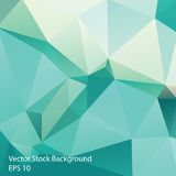 Triangle background. Triangle vector background in light retro colors Royalty Free Stock Photo