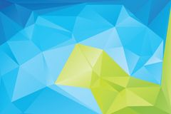 Triangle background. Triangle vector background in light retro colors Stock Photography