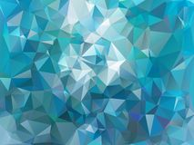 Triangle background. Triangle vector background in light retro colors Stock Image