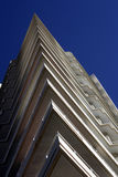 Triangle Balconies. Steep Perspective, Urban Apartment Building, Sydney, Australia Stock Images