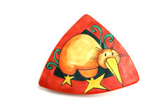 Triangle Bird Plate Stock Photos