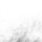Triangle Black-white Grunge 02 Royalty Free Stock Photography