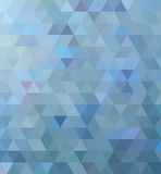 Triangle bleue photo stock