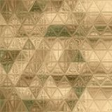 Pretty triangle camouflage pattern green, khaki, brown, ivory. Triangle camouflage pattern green, khaki, brown, ivory Royalty Free Stock Photography