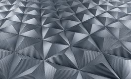 Triangle carbon background Royalty Free Stock Photo