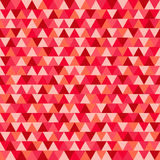 Triangle Christmas pattern, red and pink geometric background ve. Triangle Christmas pattern geometric background vector Royalty Free Stock Image