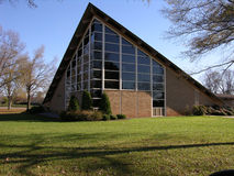 Triangle Church. A church in a rural southern North Carolina Royalty Free Stock Photography