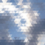 Triangle cloud background Royalty Free Stock Photography