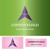 Triangle company logo. This istriangle company logo icon vector Stock Image