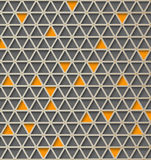 Triangle 3d  pattern. Abstract vector background. Hi tech design Royalty Free Stock Images