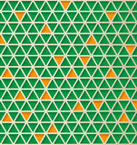 Triangle 3d  pattern. Abstract vector background. Hi tech design Royalty Free Stock Photography