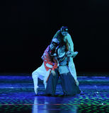 Triangle -The dance drama The legend of the Condor Heroes Stock Images