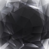 Triangle dark grey 01 Royalty Free Stock Images