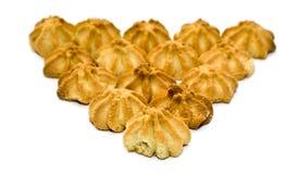 triangle de biscuit Images libres de droits