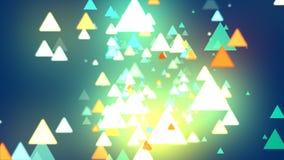 Triangle de fond abstrait Image stock
