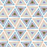 Triangle de modèle Image libre de droits
