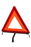Triangle de secours Photographie stock libre de droits