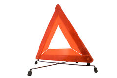 Triangle de signalisation Photo stock