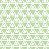 Triangle design template. Seamless pattern with fabric texture. Royalty Free Stock Photo