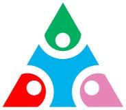 Triangle emblem Royalty Free Stock Photography