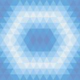 Triangle et lignes bleues pattern4 Photos libres de droits