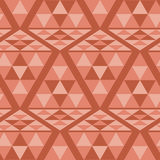 Triangle ethnic pattern Royalty Free Stock Images