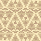 Triangle ethnic pattern Stock Photos