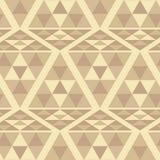 Triangle ethnic pattern Stock Photos