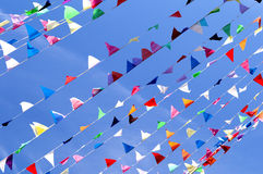 Triangle Flag Pennant Stock Image