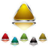 Triangle gel Stock Images