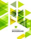 Triangle geometric abstract background Royalty Free Stock Image