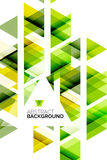 Triangle geometric abstract background Royalty Free Stock Photo