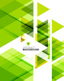 Triangle geometric abstract background Royalty Free Stock Photography
