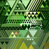 Triangle geometric abstract background Royalty Free Stock Images